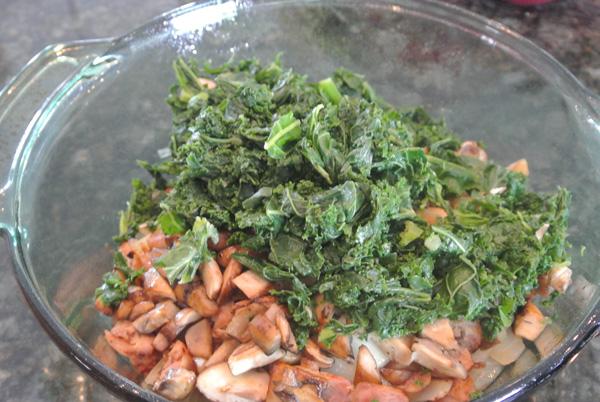 Party Panache, Sausage, Mushroom & Kale Dip | the Painted ...