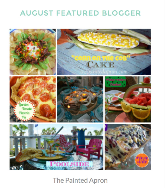 featured blogger collage thepaintedapron.com