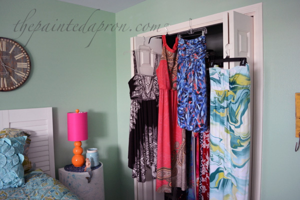 mermaid room closet