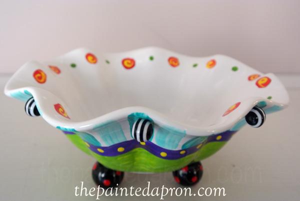 crazy bead bowl 3 thepaintedapron.com
