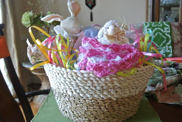 Easter baby basket 2 thepaintedapron.com