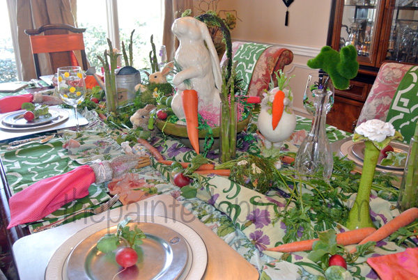 Easter table 7 thepaintedapron.com