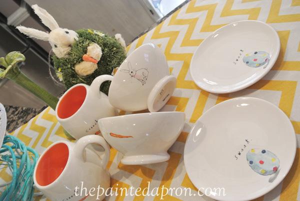 egg plates thepaintedapron.com