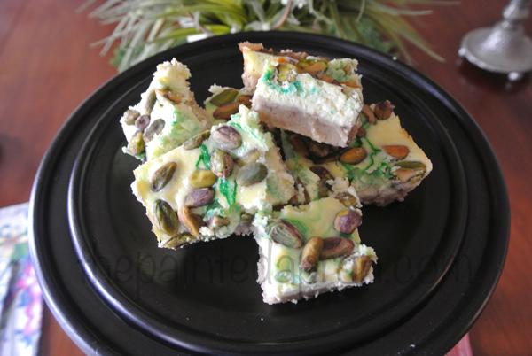 pistachio squares