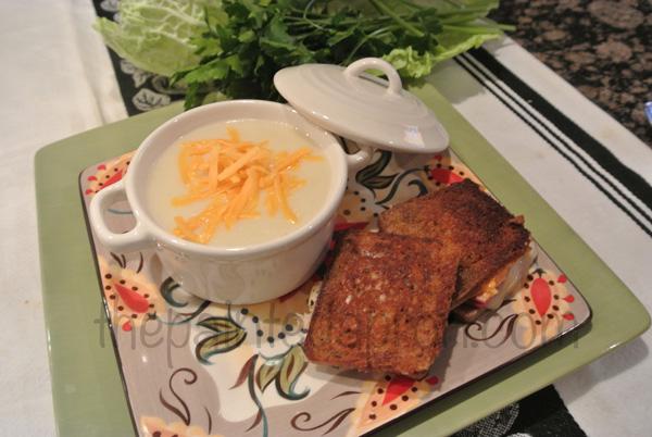 potato soup & reubens thepaintedapron.com