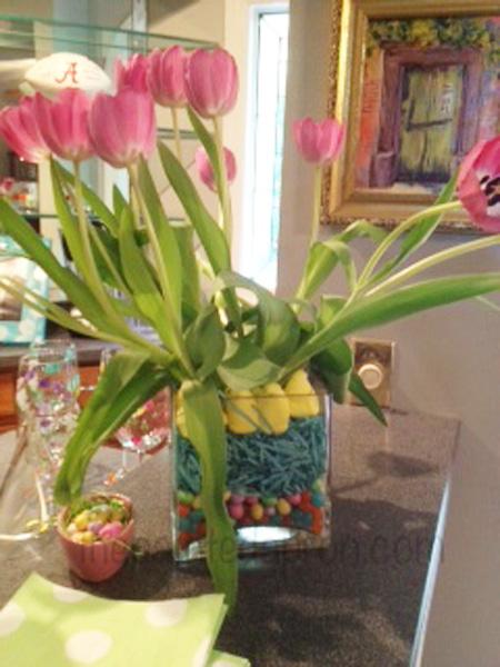 tulips & candy thepaintedapron.com
