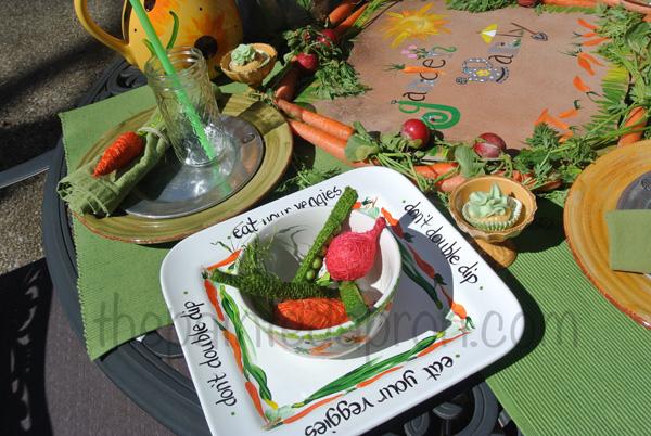 veggies & dip thepaintedapron.com