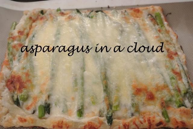 asparagus in a cloud thepaintedapron.com