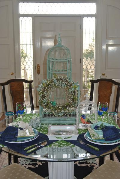 birdcages & bluebirds 1 thepaintedapron.com