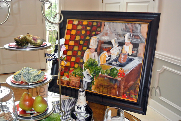 chef painting 1 thepaintedapron.com