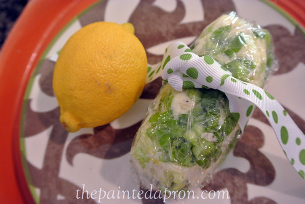 lemon chive butter 1 thepaintedapron.com