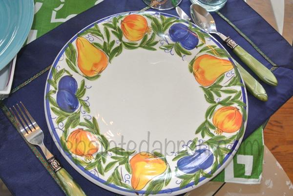lemon plate thepaintedapron.com