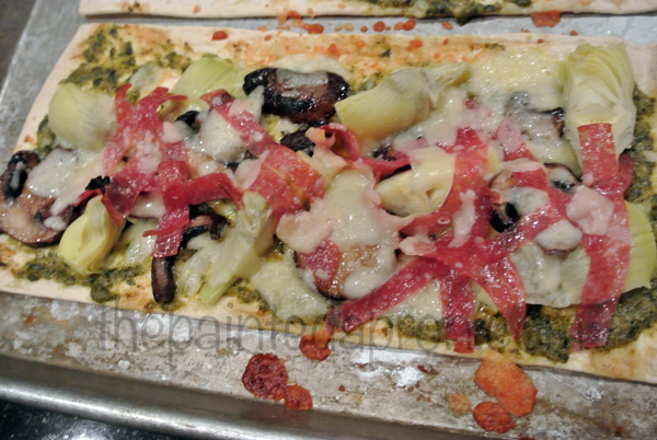 antipasto flatbread 2 thepaintedapron.com