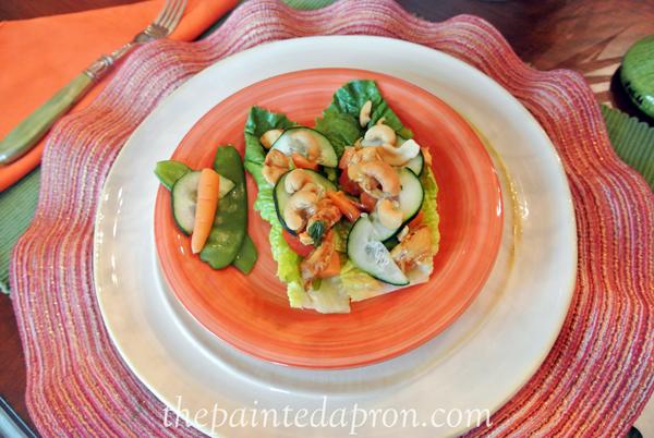 Asian lettuce wraps thepaintedapron.com