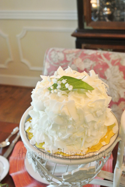 baby coconut cake
