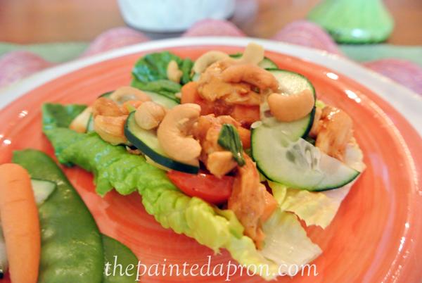 chicken lettuce wraps thepaintedapron.com