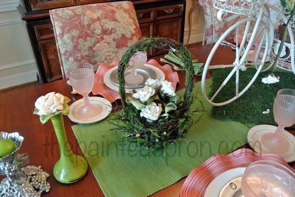 flower basket thepaintedapron.com
