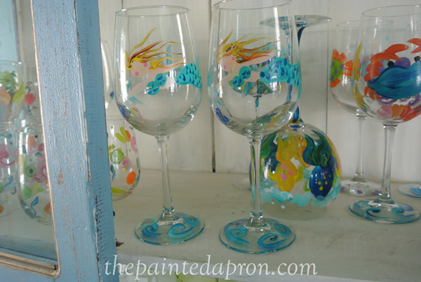 mermaid glasses jmdesignsgallery.com