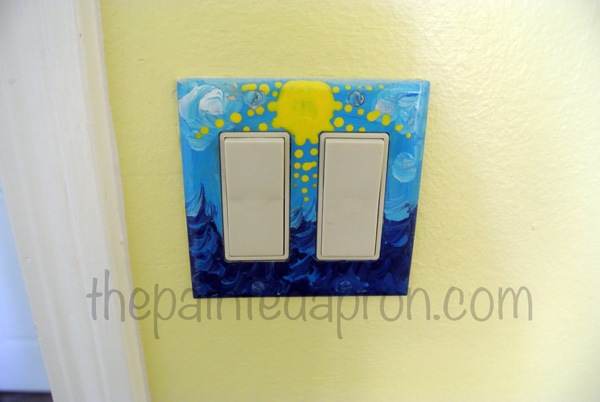 sun & surf switchplate thepaintedapron.com