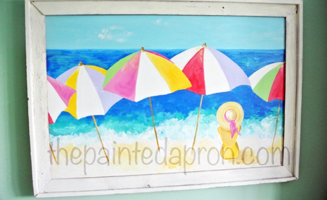 Home Decor Beach House Tour Part 2 Painted Switchplates