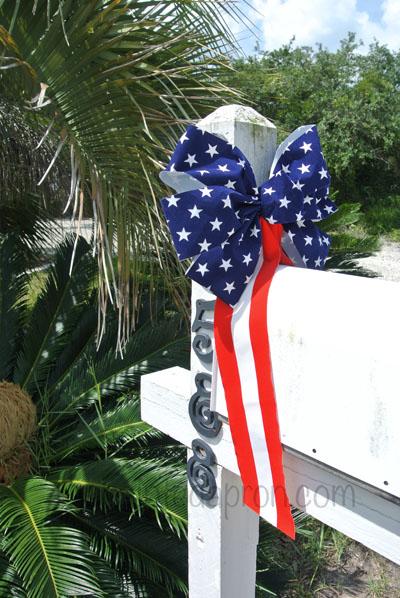 4th mailbox bow thepaintedapron.com