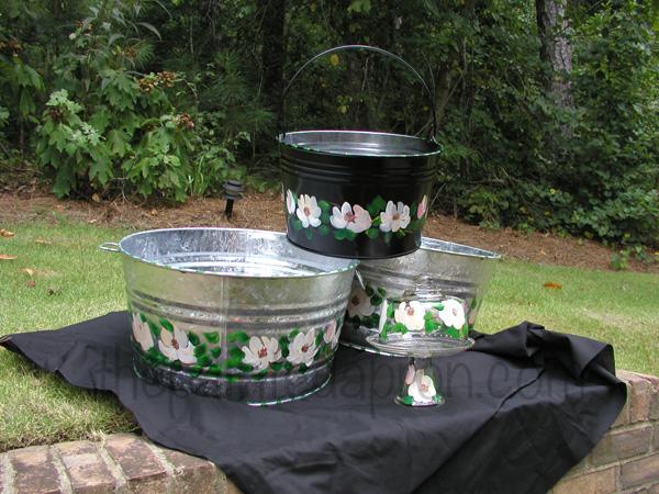 magnolia buckets thepaintedapron.com