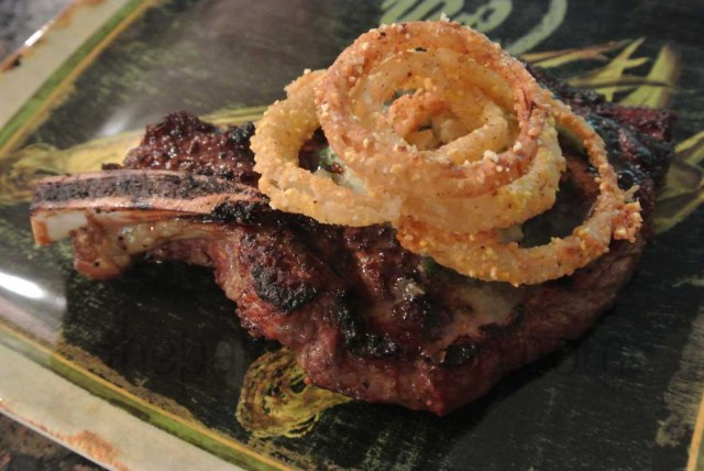 onion rings & steak thepaintedapron.com