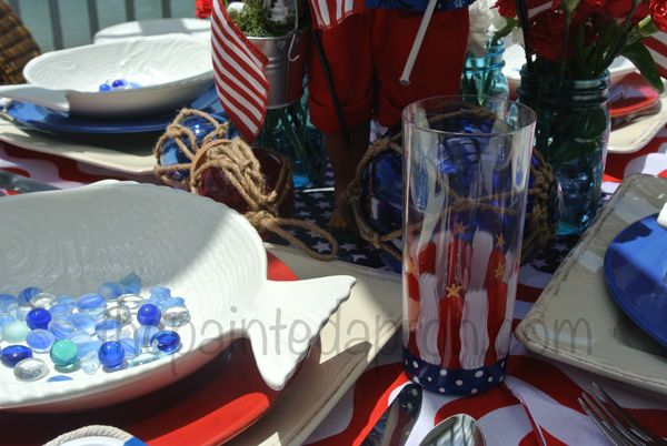red white and blue thepaintedapron.com