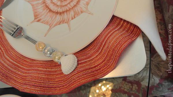 sea shell table 3 thepaintedapron.com