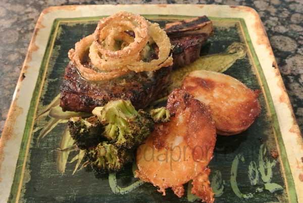 steak dinner 1 thepaintedapron.com