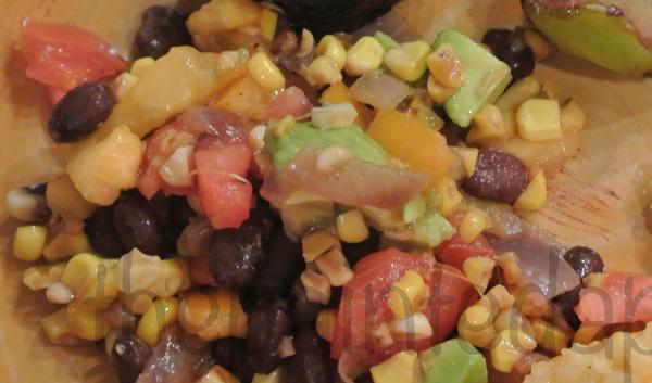 corn and black bean salad thepaintedapron.com