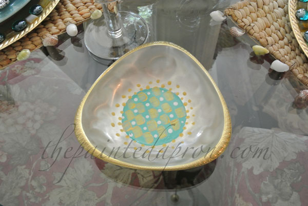 painted silver dish thepaintedapron.com