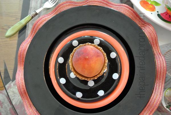 peach thepaintedapron.com