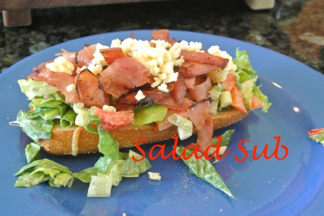 Salad sub thepaintedapron.com 2