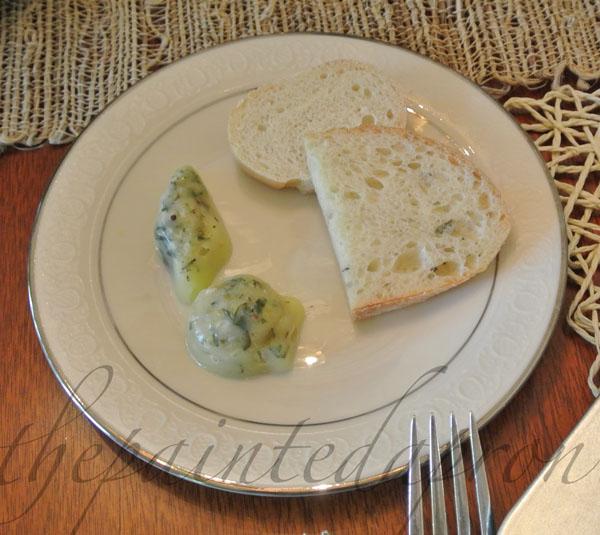 sea shell butter pats thepaintedapron.com