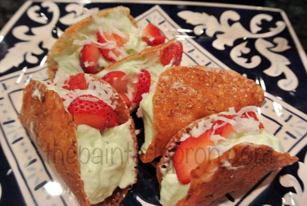 strawberry margarita tacos 4 thepaintedapron.com