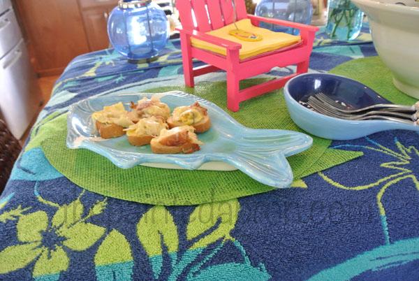 summer buffet thepaintedapron.com