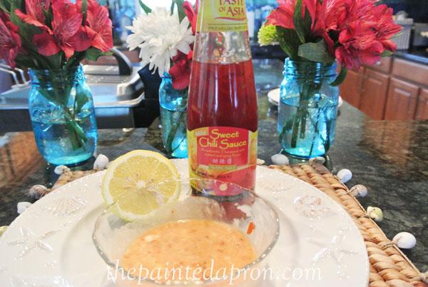 sweet chili aoli thepaintedapron.com 1