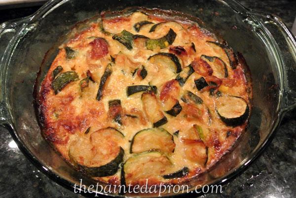 zucchini melange thepaintedapron.com