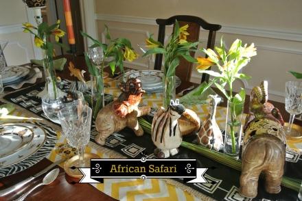 African Safari thepaintedapron.com