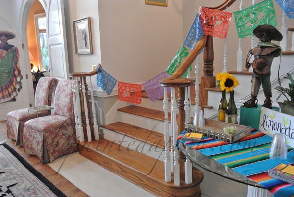 fiesta foyer thepaintedapron.com