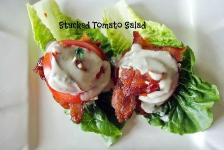 stacked tomato salad thepaintedapron.com