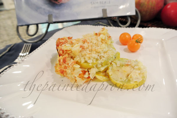 summer squash and tomato bake thepaintedapron.com