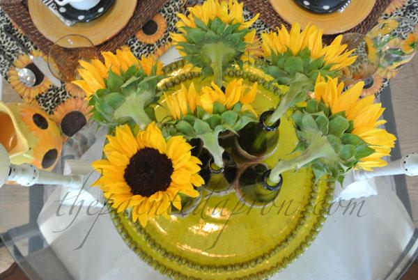 sunflowers thepaintedapron.com