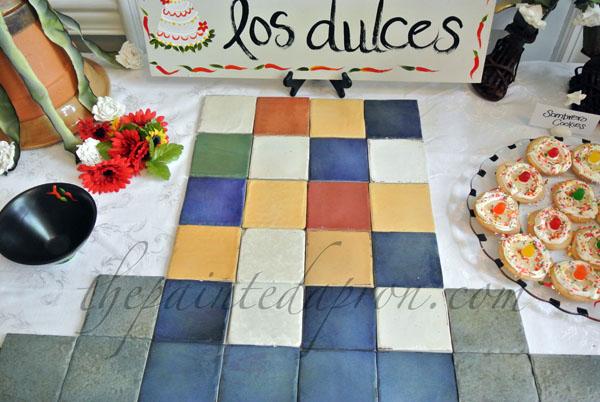 tile tray 1 thepaintedapron.com