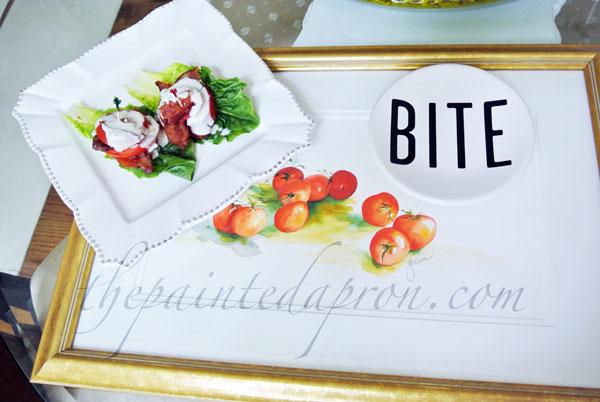 tomato blt salad thepaintedapron.com