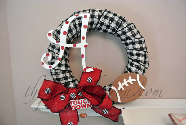 Alabama wreath thepaintedapron.com