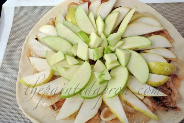apple pear galetter thepaintedapron.com