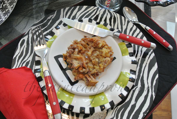 apple pecan pie cake thepaintedapron.com