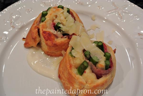 asparagus rolls thepaintedapron.com
